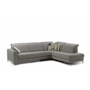 Triton Leather Sectional | Rom | Made in Belgium