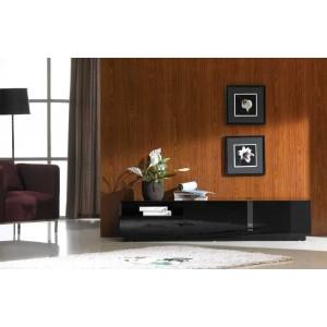 TV027 BLACK HIGH GLOSS TV STAND J&M