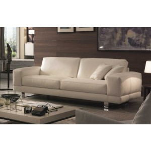 U177 Modern leather maxi sofa| Chateau d'Ax Italia