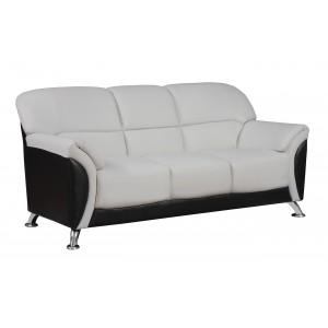 9103 Modern Leather sofa by Global USA