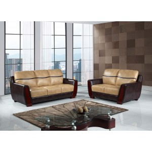 226 Modern Leather Sofa By Global USA