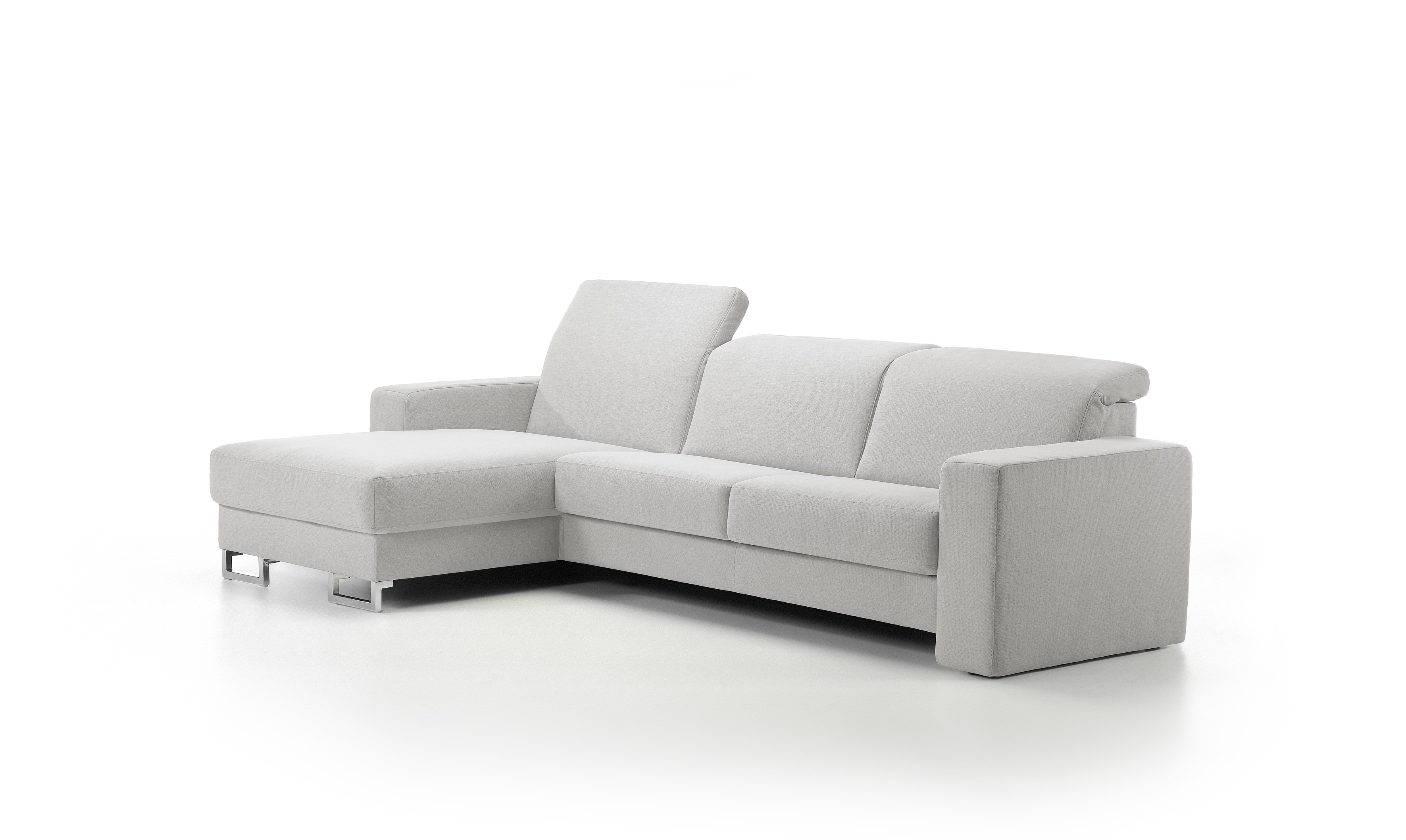 Artemis Leather Sectional By Rom Belgium At Nova Interiors