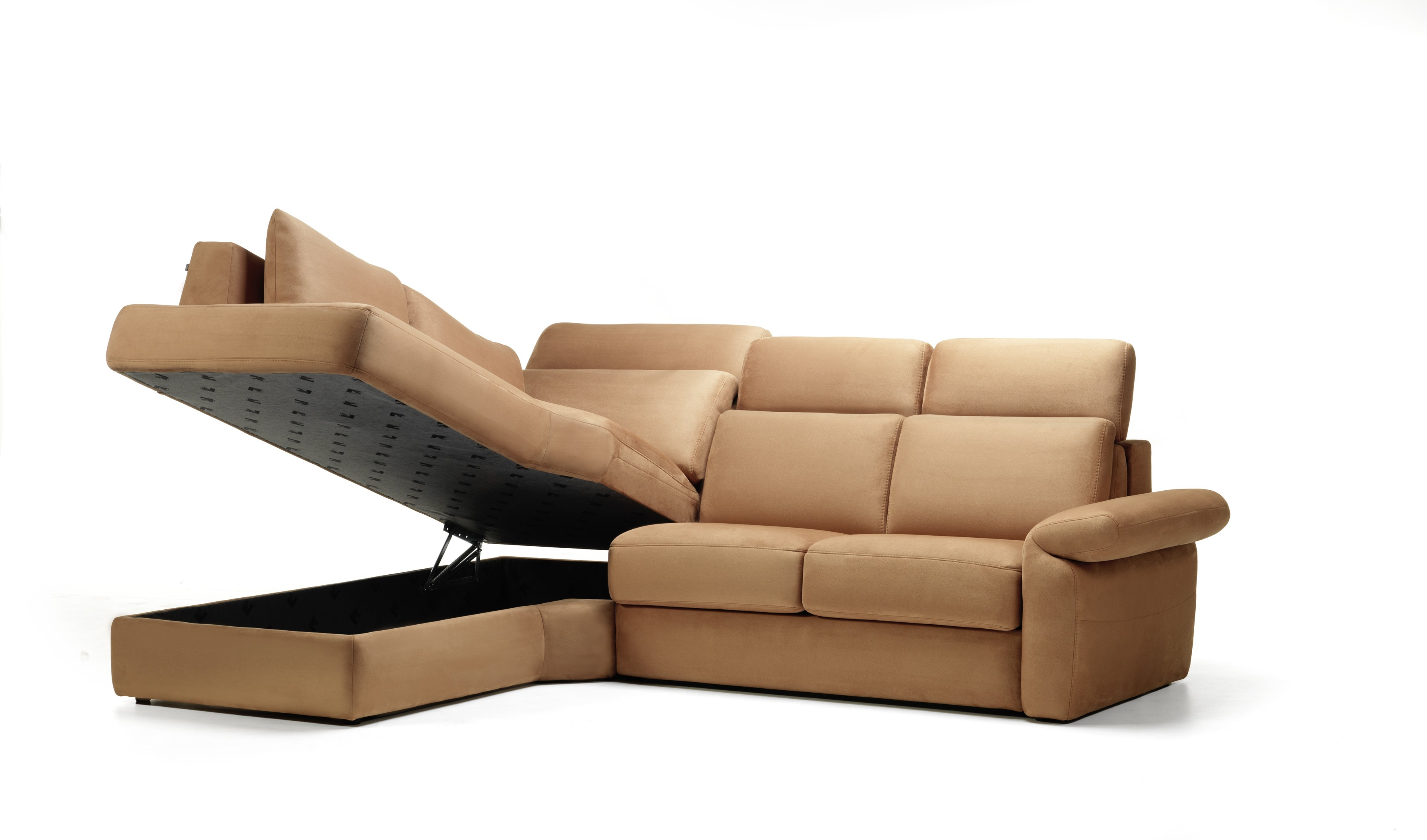 Atria Leather Sectional By Rom Belgium At Nova Interiors