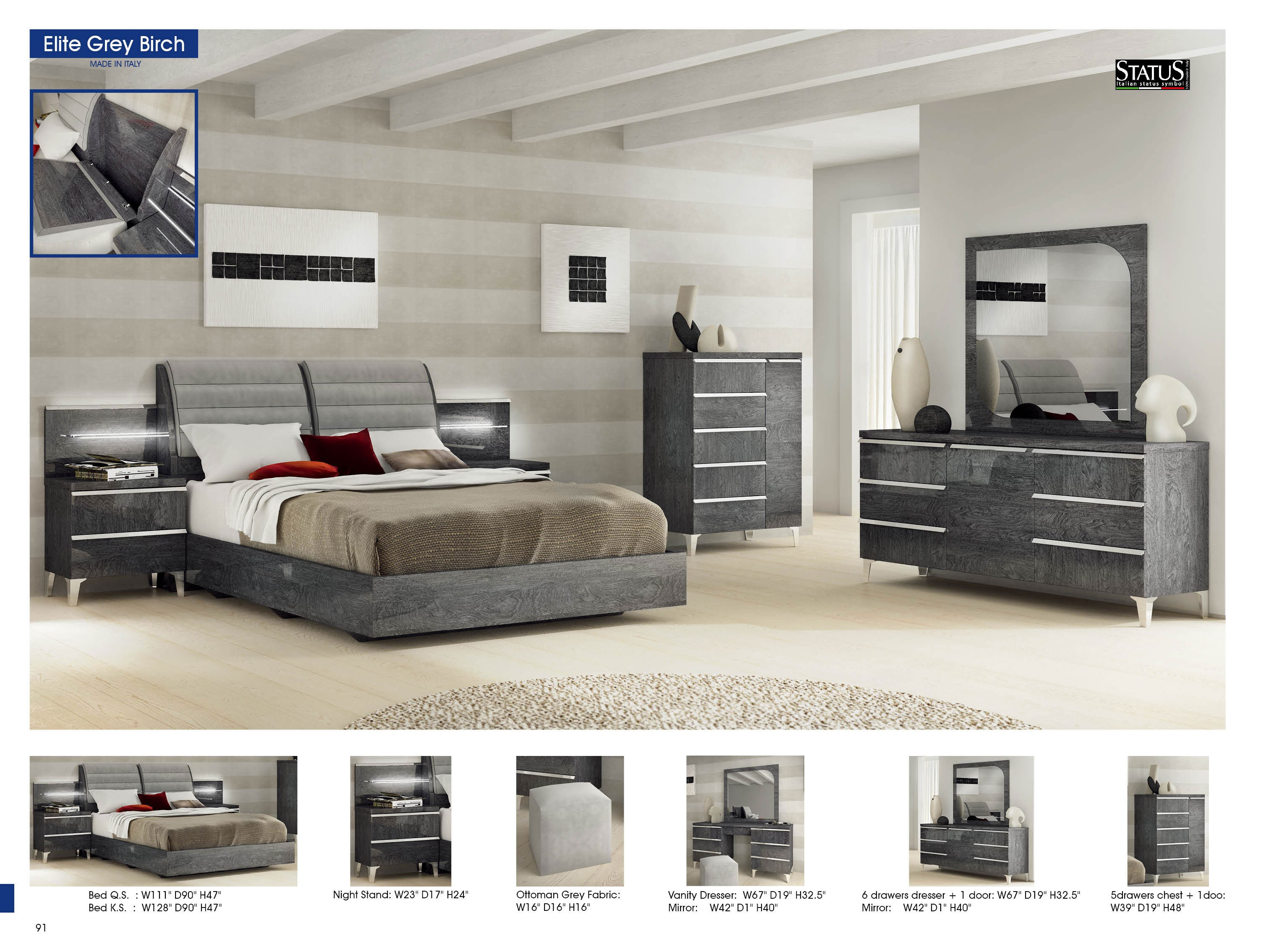 Elite Bedroom Set By Esf White Bedroom Set By Esf Buy From Nova Interiors Contemporary