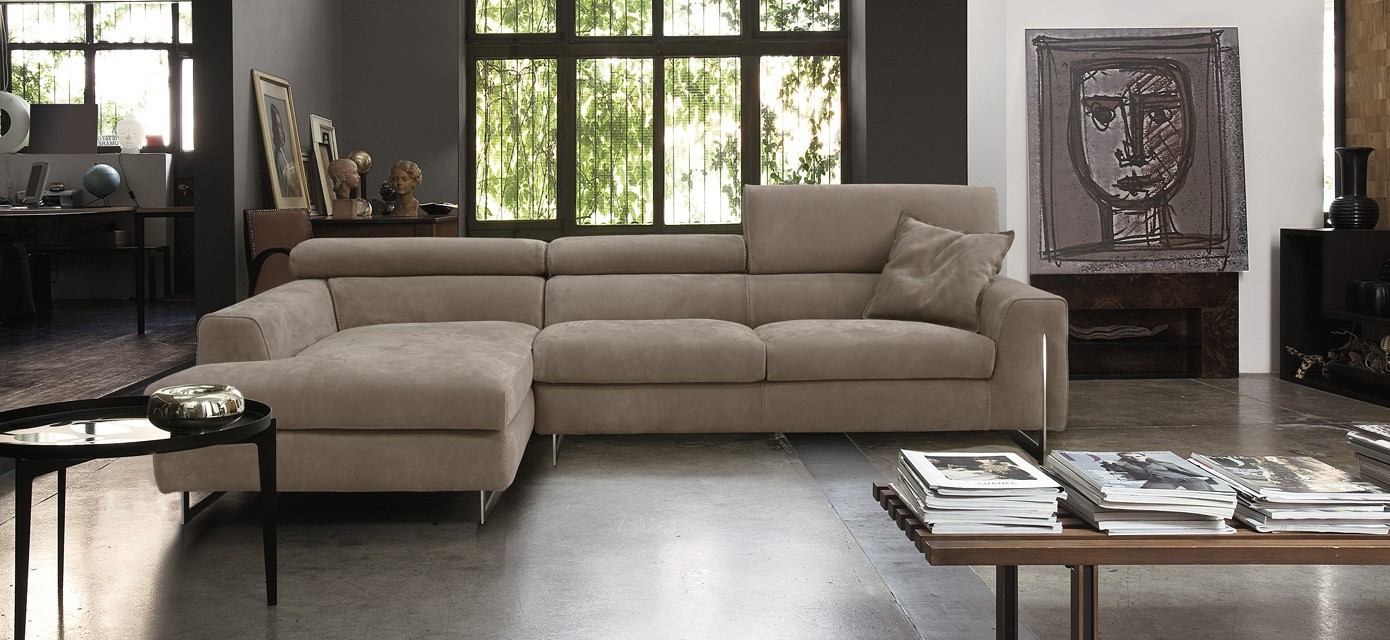 Bellevue sectional by gamma international available at for Sofa couch bellevue