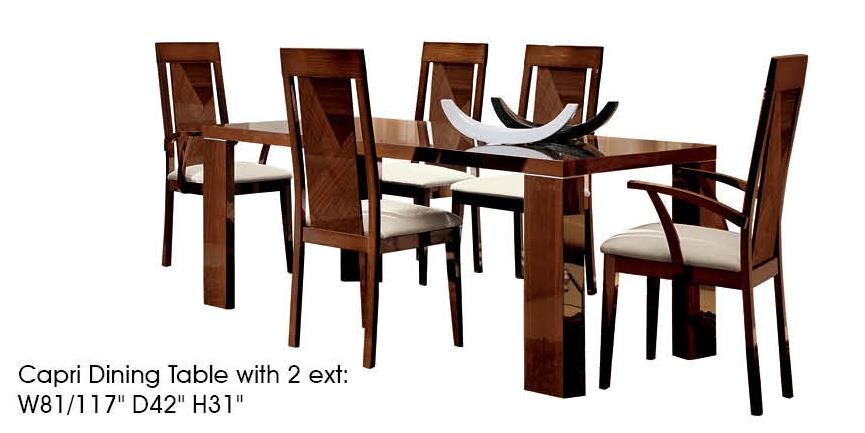 Capri Dining Room Set By ALF (Made In Italy) Buy From NOVA Interiors Contemporary Furniture