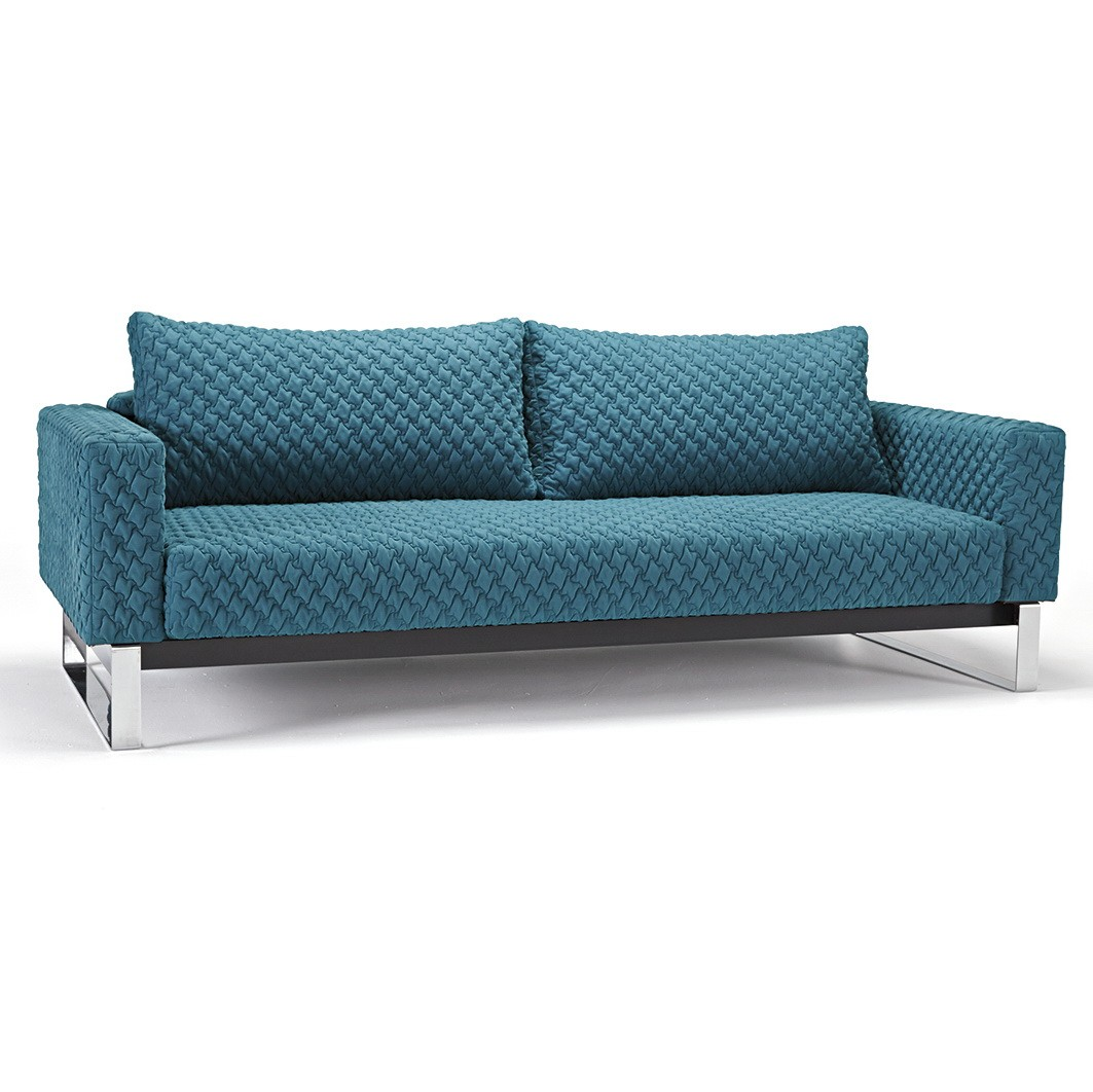 Cassius coz sofa chrome by innovation usa nova interiors for Sofa bed usa