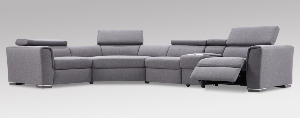 dana contemporary sectional by w schillig at nova. Black Bedroom Furniture Sets. Home Design Ideas