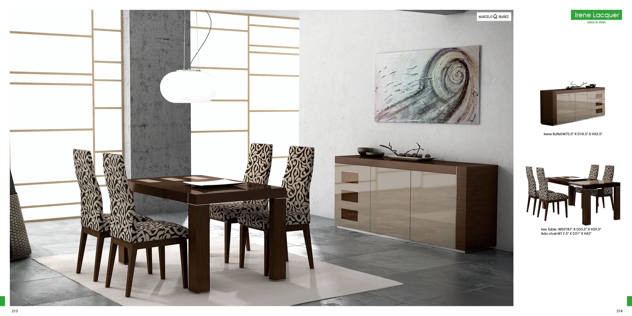 Irene Lacquered By Esf Buy From Nova Interiors