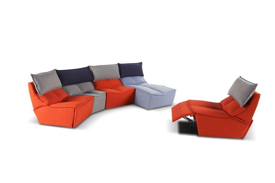 Calia Italia Hip Hop. Fabulous Sofa Fabric Person Reclining With ...