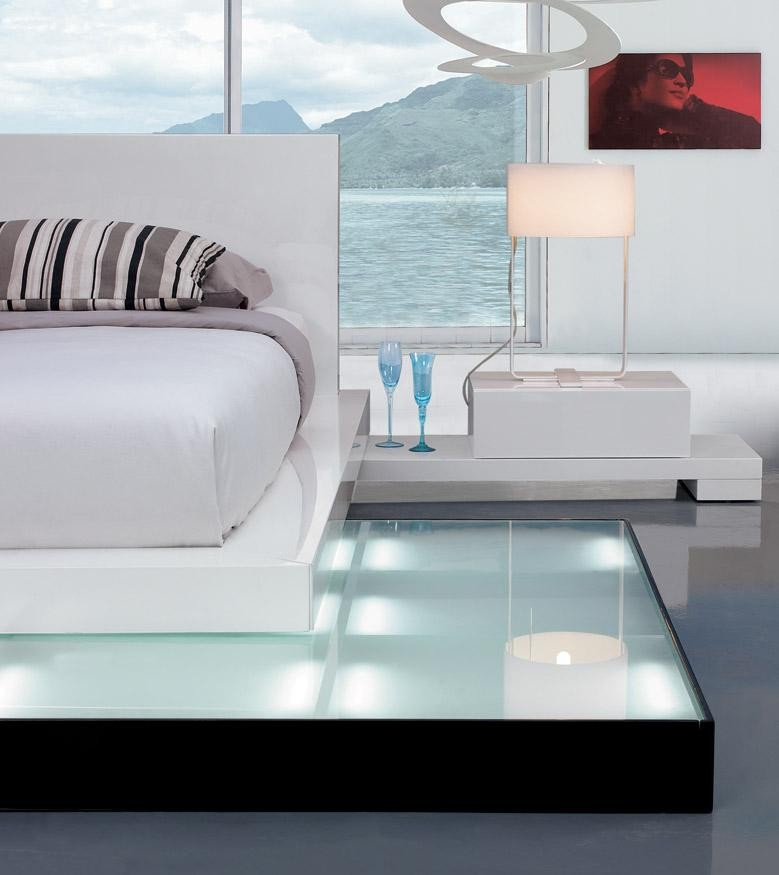 Galaxy Bed With Walk On Light Platform Buy From Nova