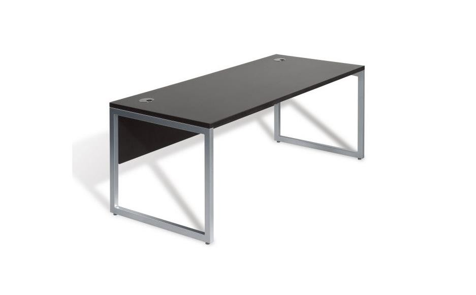 jesper office 9000 series desk with modesty panel modern
