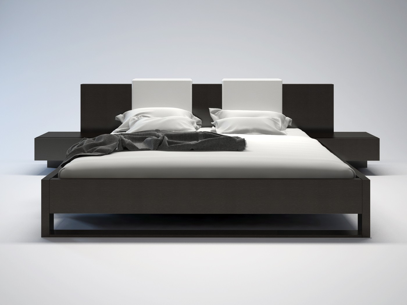 Monroe Modern Bed By Modloft Nova Interiors