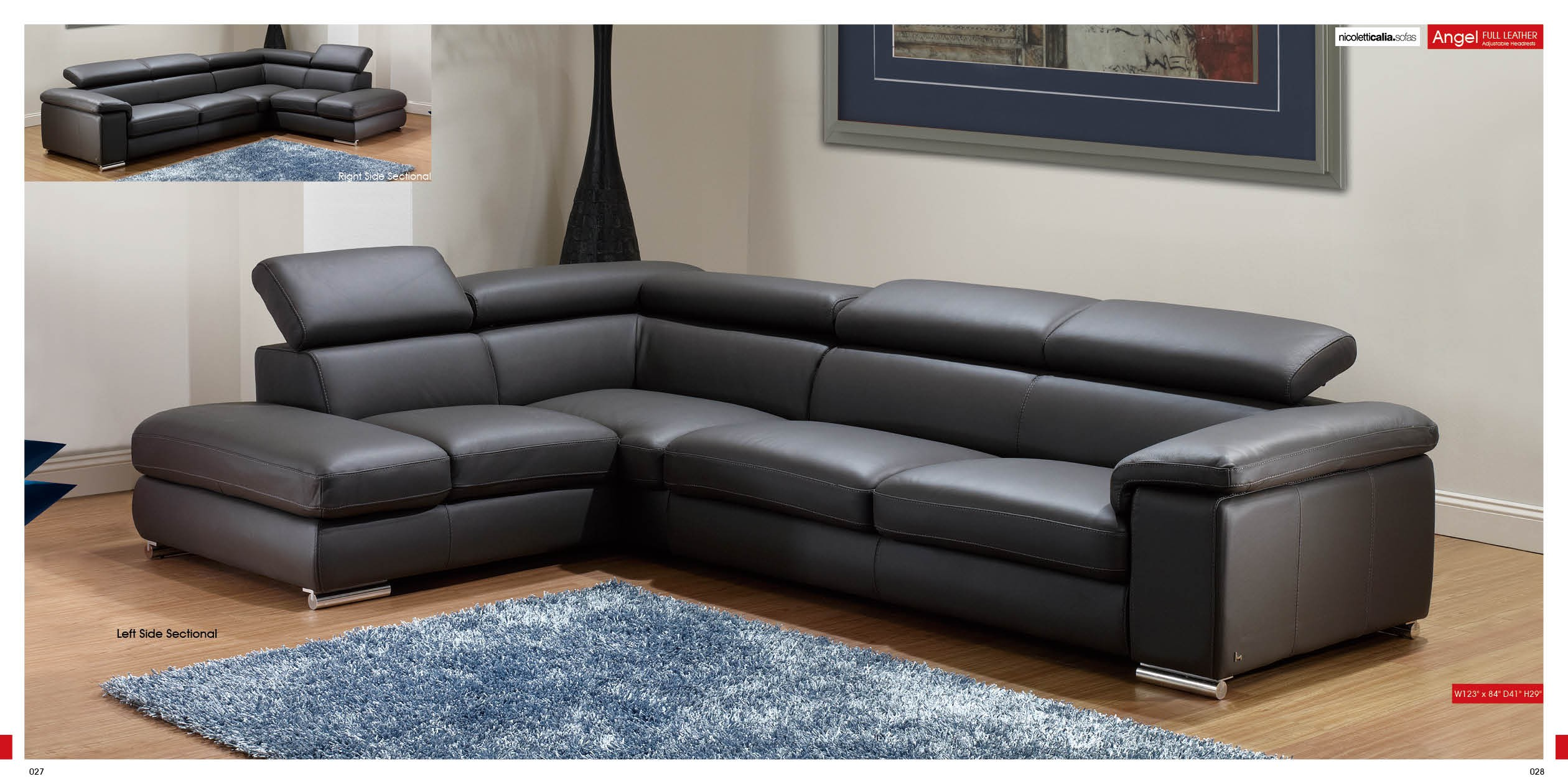 Angel Sectional By Esf Buy From Nova Interiors Contemporary