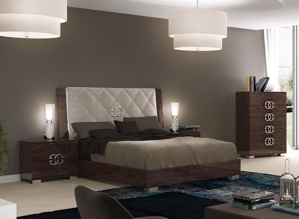 Prestige Deluxe Bedroom Set By Esf Buy From Nova Interiors Contemporary Furniture Store Boston