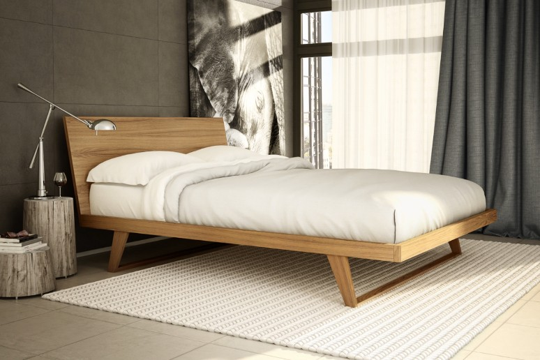 Malta Bed Mobican Made In Canada Modern Bedroom