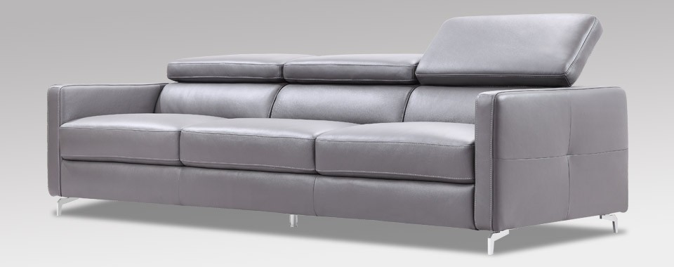 oceano contemporary leather sofa by w schillig at nova interiors contemporary furniture store. Black Bedroom Furniture Sets. Home Design Ideas