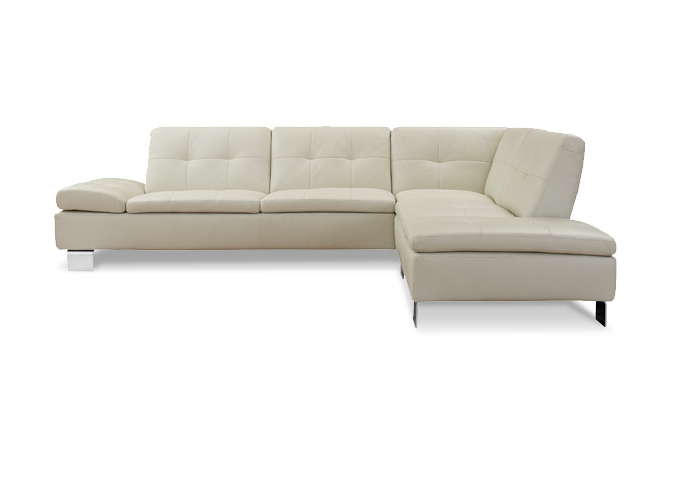 Primanti contemporary leather sectional by w schillig at for W schillig sectional sofa