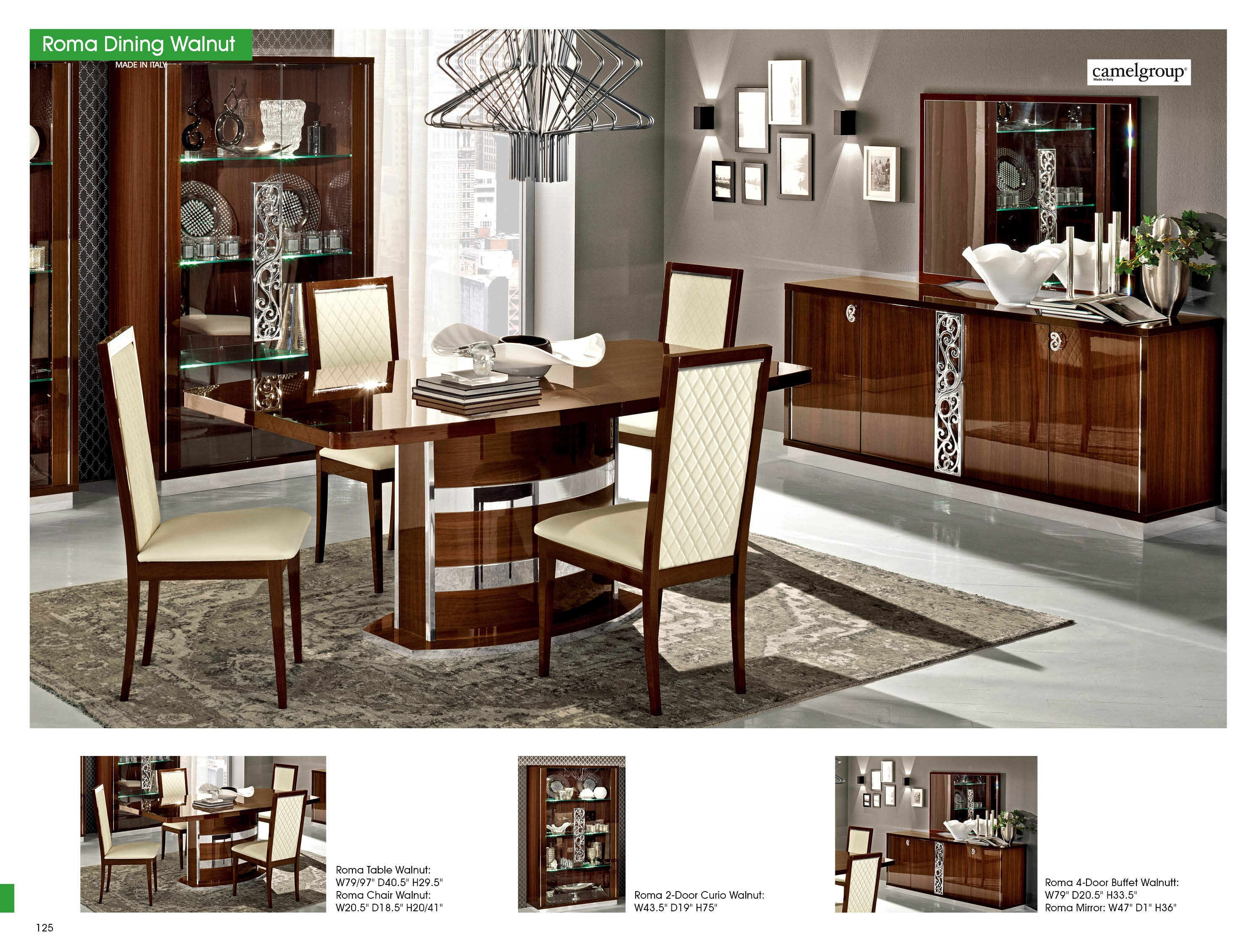 room home table furniture cor in dining walnut ross d dinning set