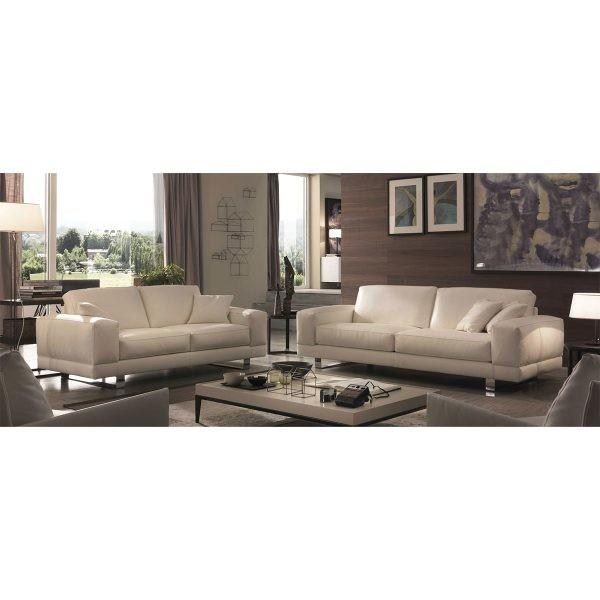 U177 Premium Italian Leather Sofa And Loveseat By Chateau