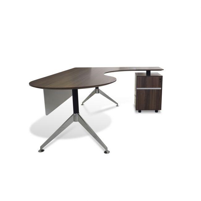 jesper office teardrop desk, buy from nova interiors contemporary