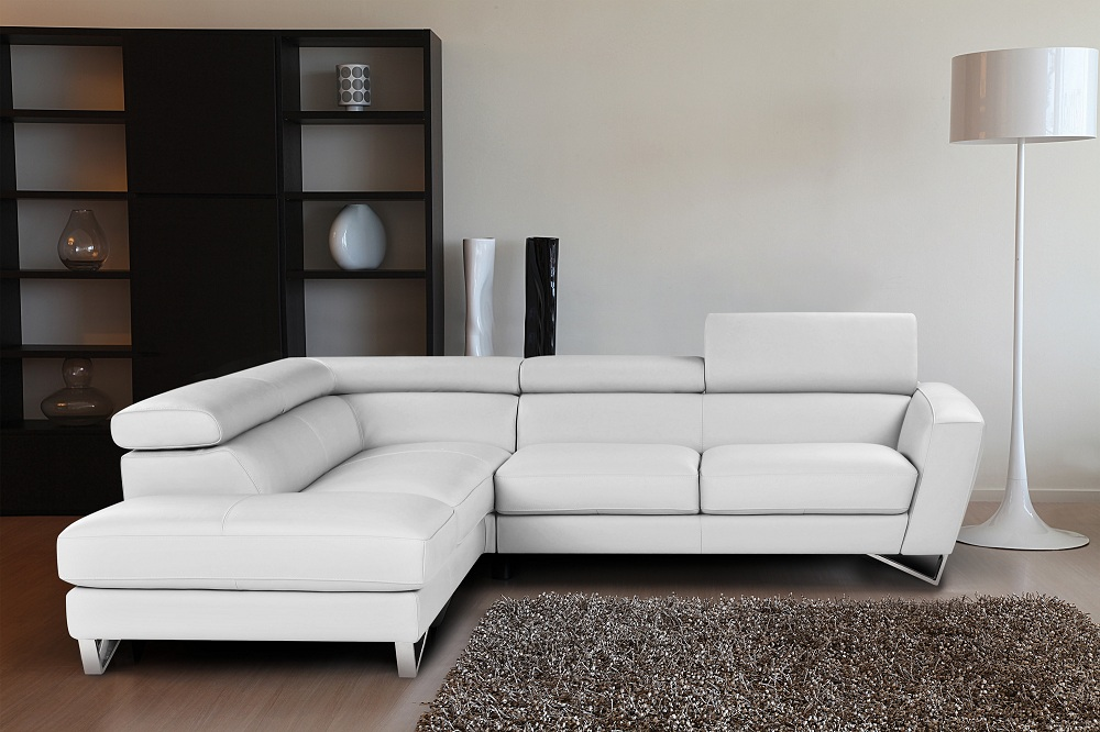 Sparta Italian Leather Sectional By J Amp M Buy From Nova