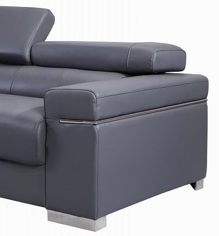 soho leather sofa by j m buy from nova interiors contemporary