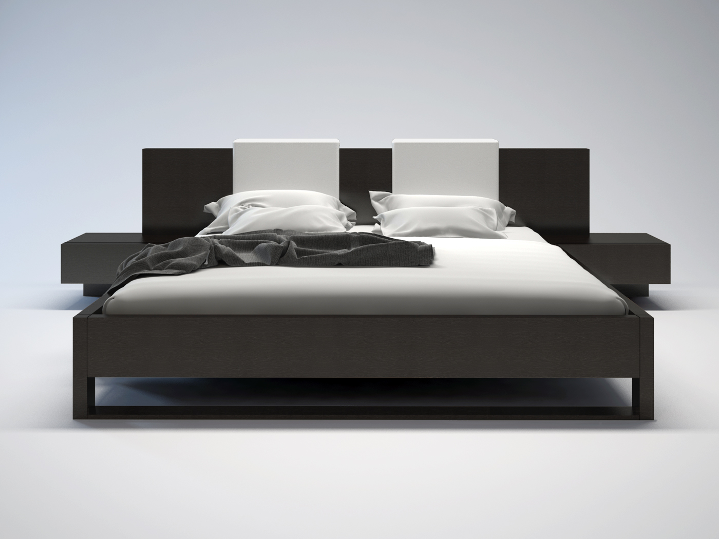 Monroe Modern Bed By Modloft Nova Interiors