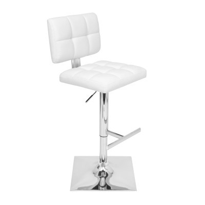 Glamour Bar Stool Ale Barstool Upholstered Leatherette