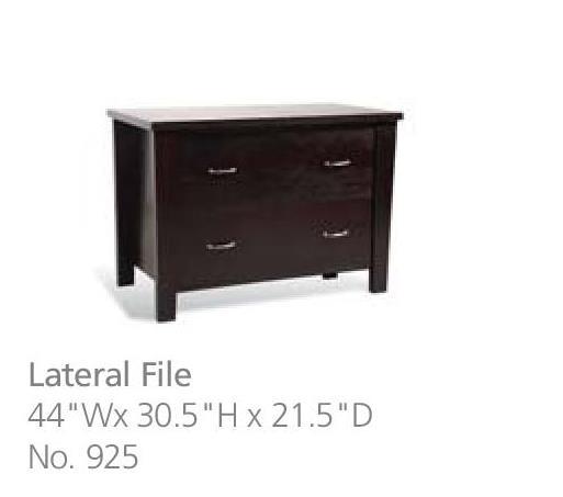 Jesper office lateral file dimensions