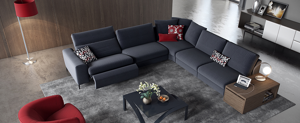 Donato Sectional By Rom