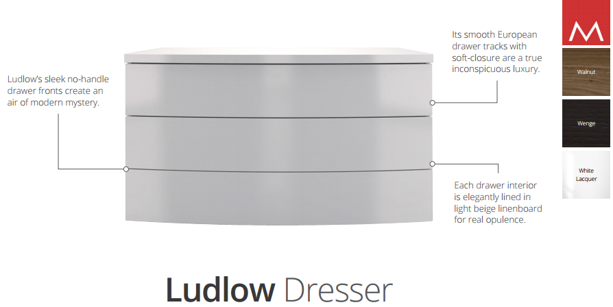 ludlow dresser description