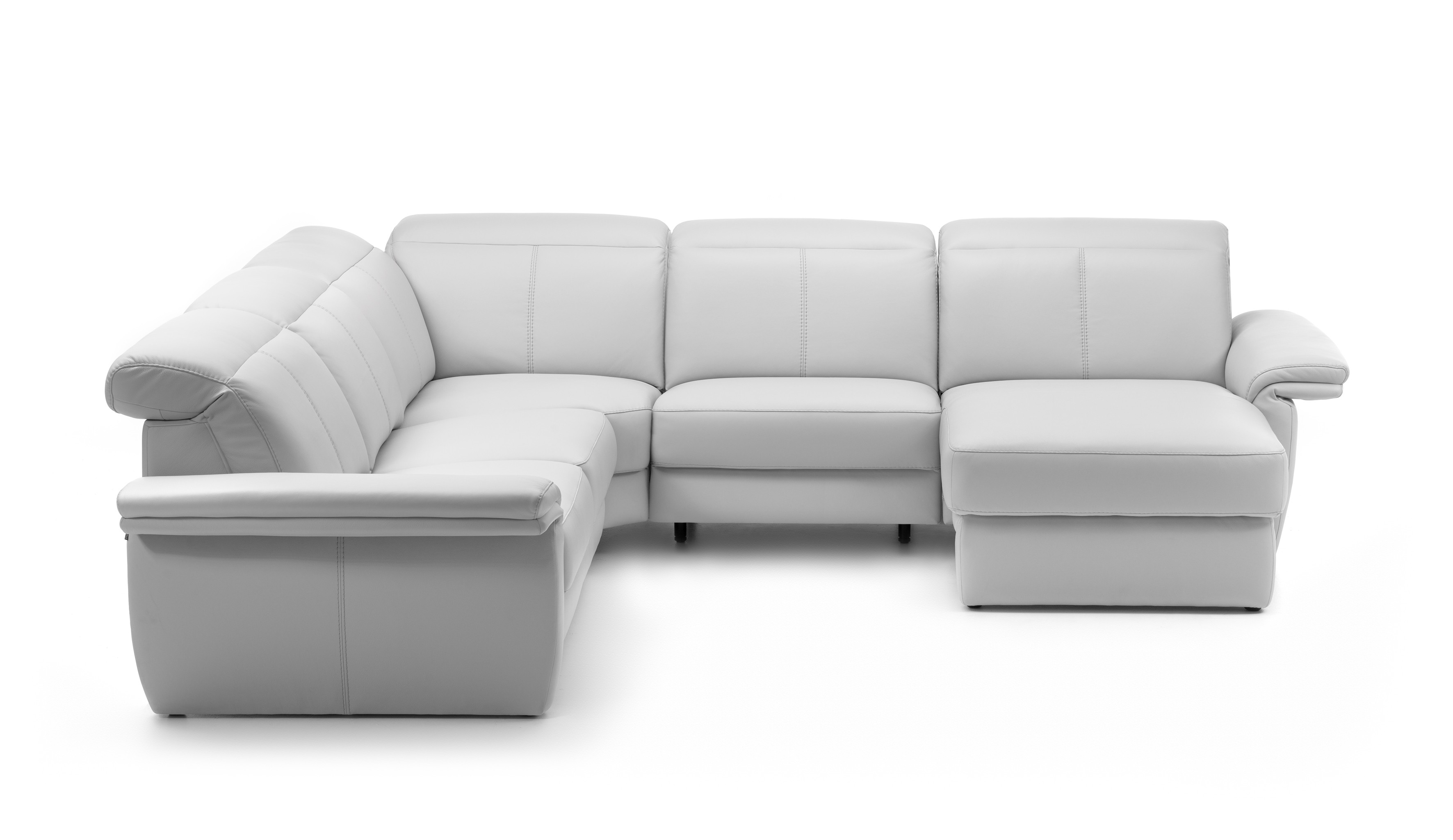 Minos Leather Sectional   Rom   Made in Belgium