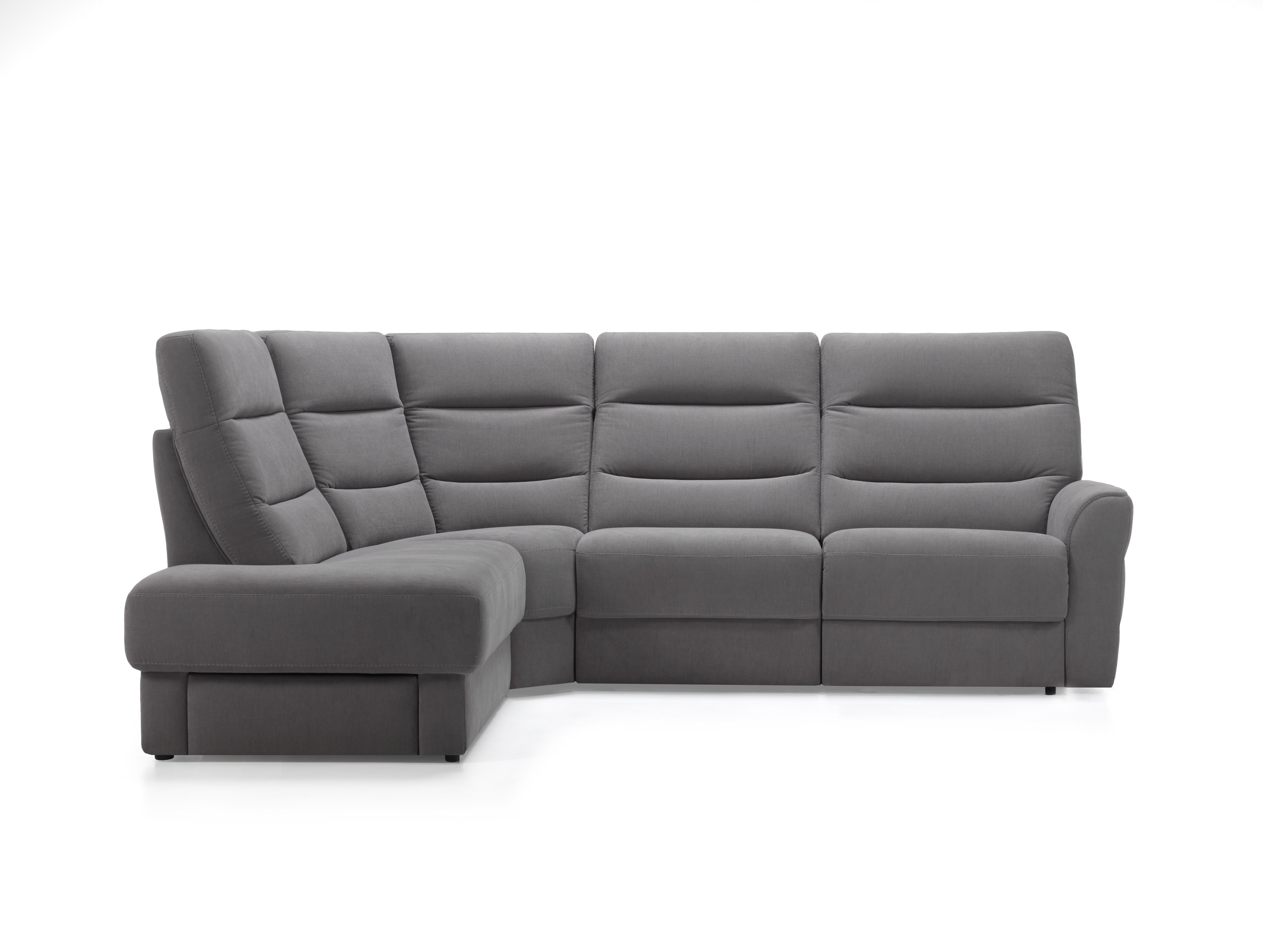 Montfort Leather Sectional   Rom   Made in Belgium