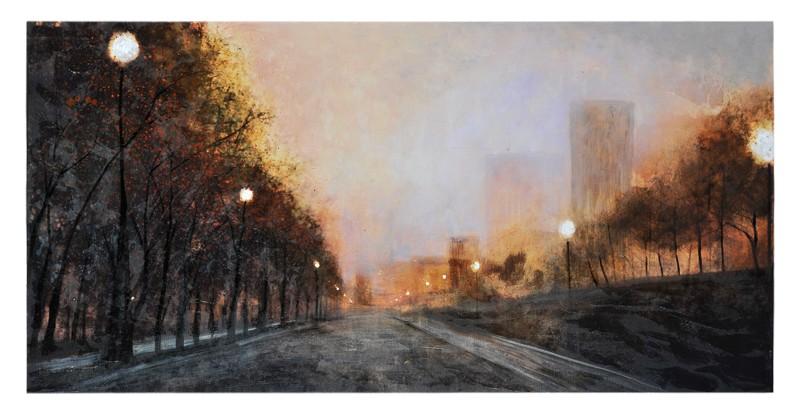 Misty Streets By Ren-Wil