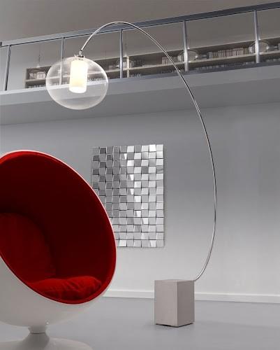 Plasma Floor Lamp By Zuo Mod