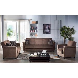 Aspen Sofa By Sunset (Yuky Brown)