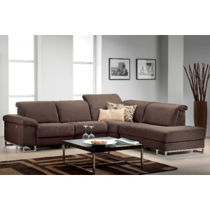 Deimos Leather Sectional | Rom | Made in Belgium