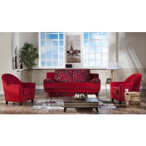 Fantasy 3 seat sleeper Story Red By Sunset