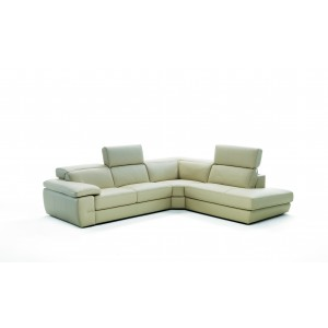 Flat Premium Leather sectional by IDP Italia