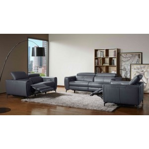 Lorenzo Motion Sofa in Blue-Grey