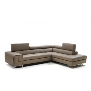 Magnolia Premium Leather sectional by IDP Italia