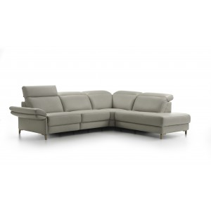 Minerva I Leather Sectional | Rom | Made in Belgium