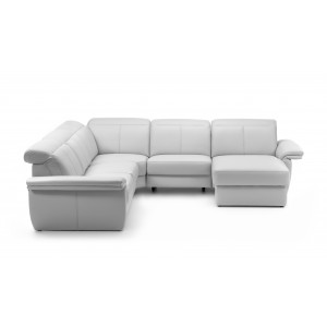Minos Leather Sectional | Rom | Made in Belgium
