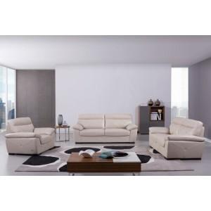 S173 Sofa Set in Bone Leather