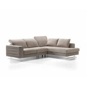 Samoa Leather Sectional | Rom | Made in Belgium