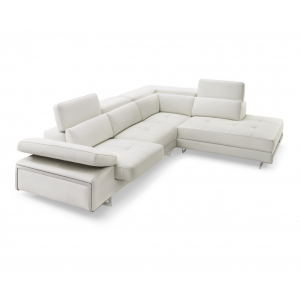 Gio Premium Italian Leather Sectional