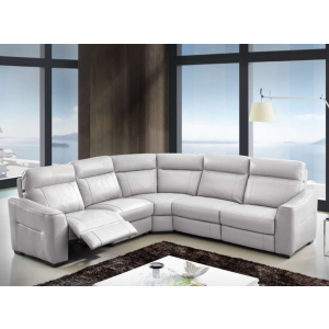Trevor Premium Italian Leather Sectional