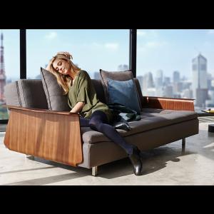 Long Horn Dual Modern Sofa Bed