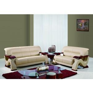 2033 Modern Leather sofa by Global USA